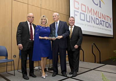 Community Foundation of Volusia & Flagler Honors Nancy & Lowell Lohman with its 2019 Herbert M. Davidson Award