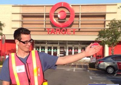 Race Parking at Target for Speedweek 2015
