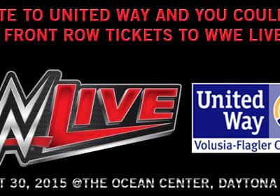 WWE Live Raffle