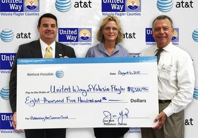 AT&T Donates $8,500