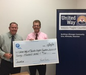 FPL donates $20,000 to United Way of Volusia-Flagler Counties